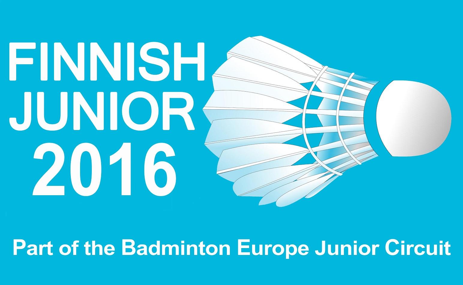 Finnish Junior 2016 logo